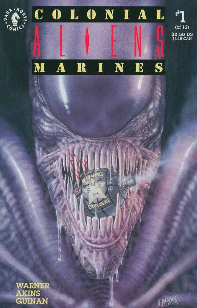 Cover for Aliens: Colonial Marines (Dark Horse, 1993 series) #1