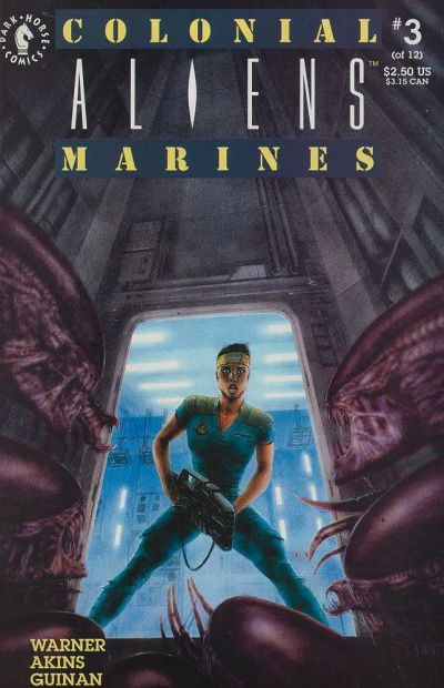 Cover for Aliens: Colonial Marines (Dark Horse, 1993 series) #3