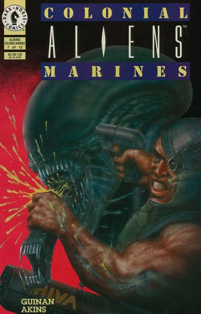 Cover for Aliens: Colonial Marines (Dark Horse, 1993 series) #7