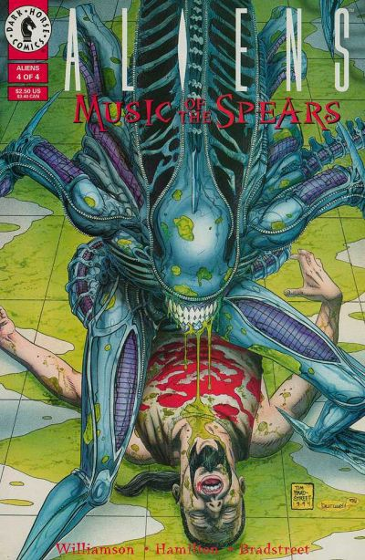 Cover for Aliens: Music of the Spears (Dark Horse, 1994 series) #4