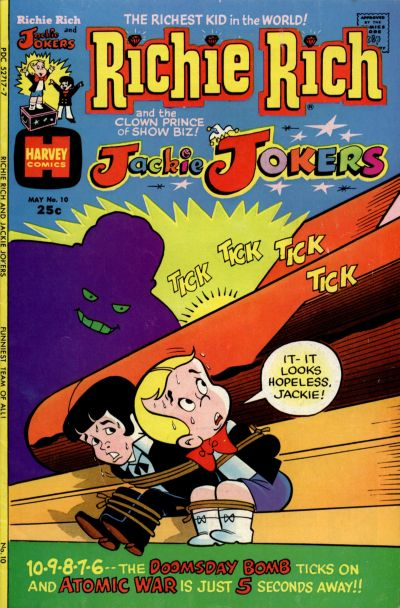 Cover for Richie Rich & Jackie Jokers (Harvey, 1973 series) #10