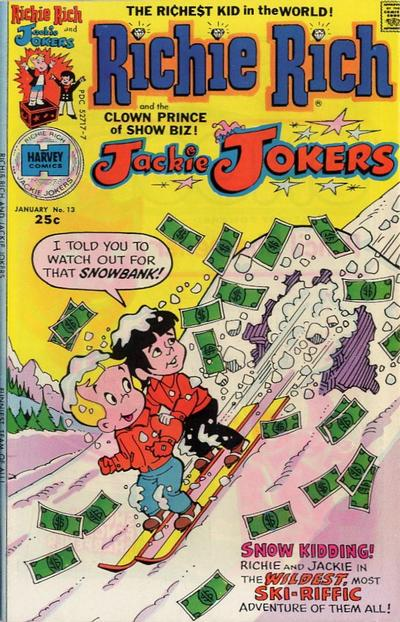 Cover for Richie Rich & Jackie Jokers (Harvey, 1973 series) #13
