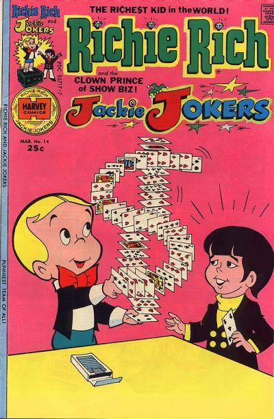 Cover for Richie Rich & Jackie Jokers (Harvey, 1973 series) #14