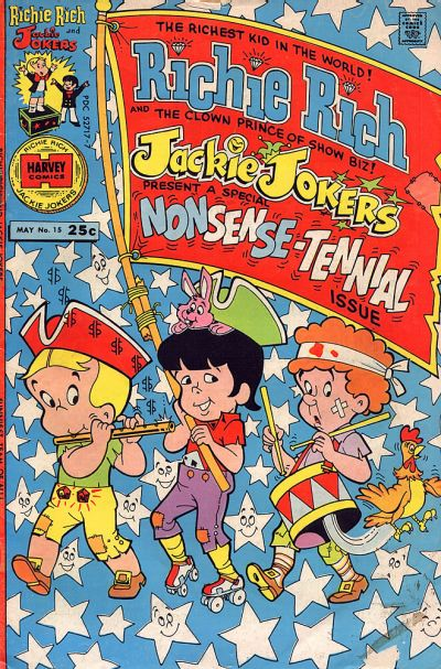 Cover for Richie Rich & Jackie Jokers (Harvey, 1973 series) #15