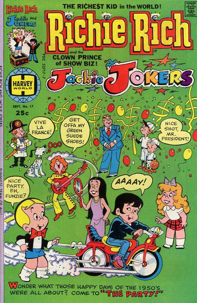 Cover for Richie Rich & Jackie Jokers (Harvey, 1973 series) #17