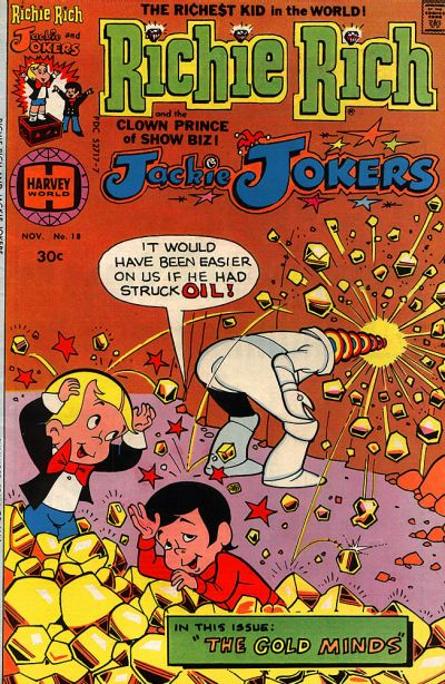 Cover for Richie Rich & Jackie Jokers (Harvey, 1973 series) #18