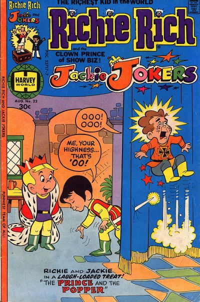 Cover for Richie Rich & Jackie Jokers (Harvey, 1973 series) #22