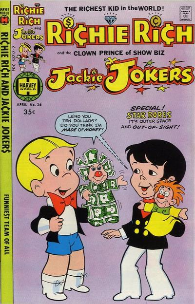 Cover for Richie Rich & Jackie Jokers (Harvey, 1973 series) #26