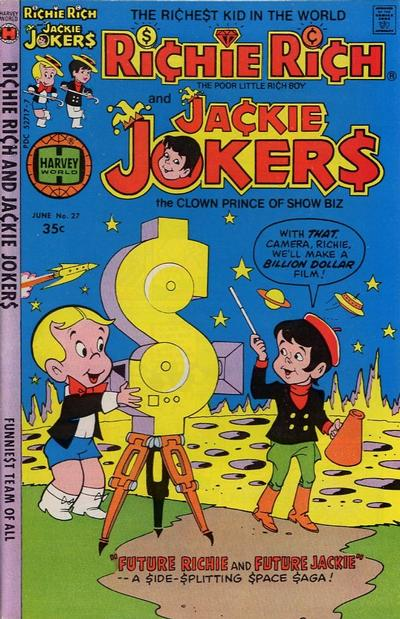 Cover for Richie Rich & Jackie Jokers (Harvey, 1973 series) #27