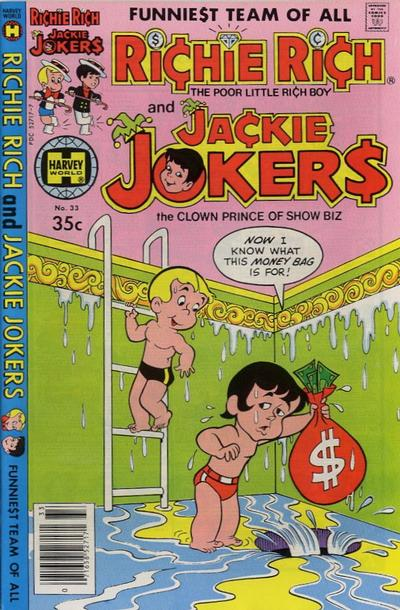 Cover for Richie Rich & Jackie Jokers (Harvey, 1973 series) #33