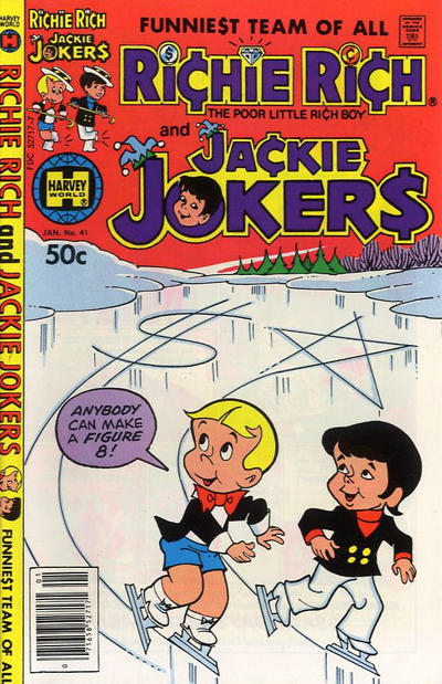 Cover for Richie Rich & Jackie Jokers (Harvey, 1973 series) #41