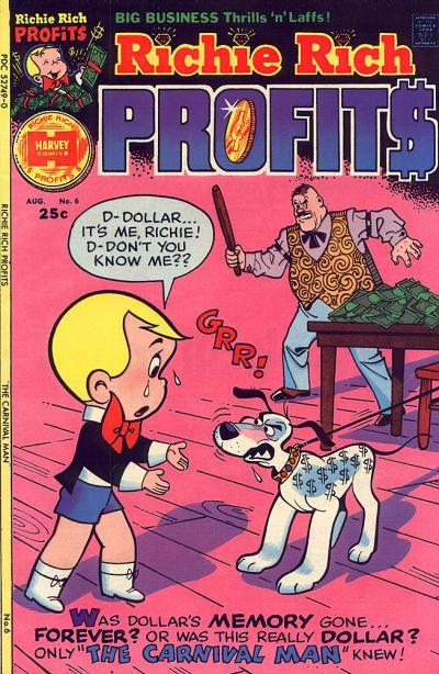 Cover for Richie Rich Profits (Harvey, 1974 series) #6