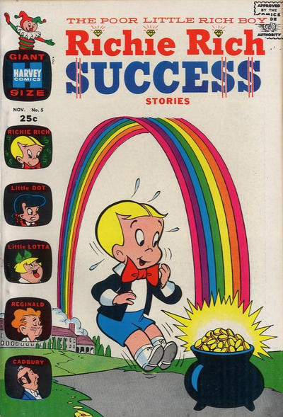Cover for Richie Rich Success Stories (Harvey, 1964 series) #5