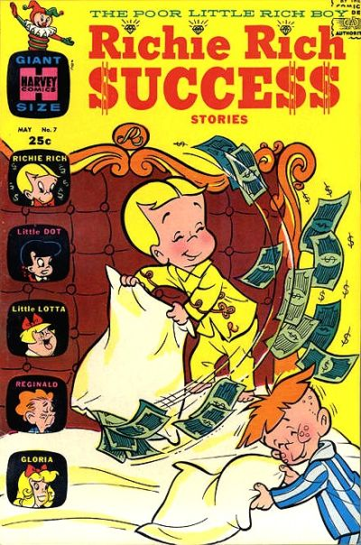 Cover for Richie Rich Success Stories (Harvey, 1964 series) #7