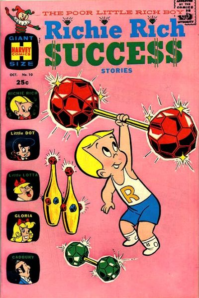 Cover for Richie Rich Success Stories (Harvey, 1964 series) #10