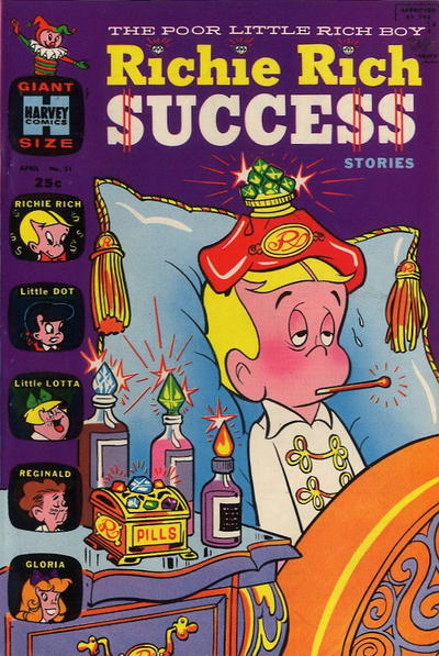 Cover for Richie Rich Success Stories (Harvey, 1964 series) #31