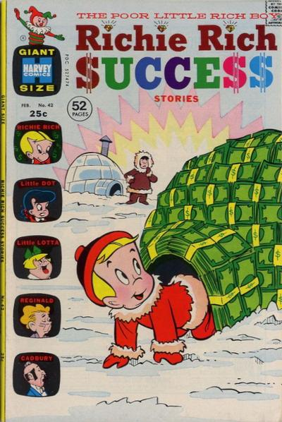 Cover for Richie Rich Success Stories (Harvey, 1964 series) #42