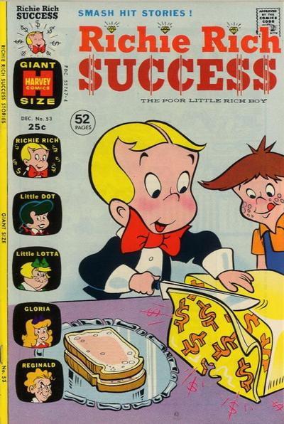 Cover for Richie Rich Success Stories (Harvey, 1964 series) #53