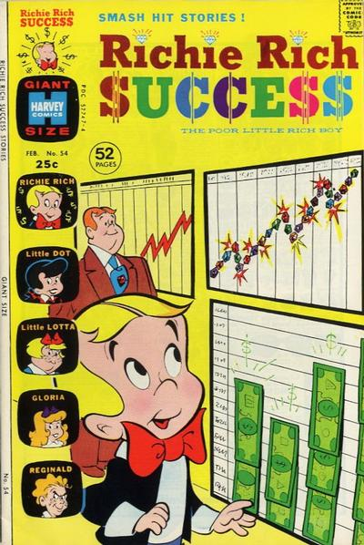 Cover for Richie Rich Success Stories (Harvey, 1964 series) #54