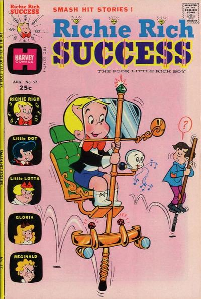 Cover for Richie Rich Success Stories (Harvey, 1964 series) #57