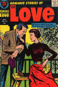 Cover Thumbnail for Romance Stories of True Love (Harvey, 1957 series) #47