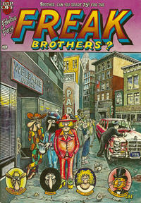 Cover for The Fabulous Furry Freak Brothers (Rip Off Press, 1971 series) #4 [1.25 USD 3rd print]