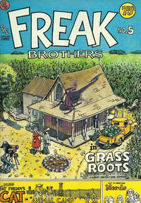 Cover Thumbnail for The Fabulous Furry Freak Brothers (Rip Off Press, 1971 series) #5