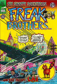 Cover Thumbnail for The Fabulous Furry Freak Brothers (Rip Off Press, 1971 series) #6