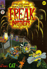 Cover for The Fabulous Furry Freak Brothers (Rip Off Press, 1971 series) #7 [2.50 USD 2nd print]
