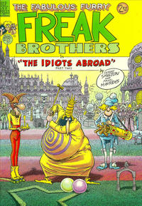 Cover Thumbnail for The Fabulous Furry Freak Brothers (Rip Off Press, 1971 series) #9
