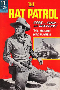 Cover Thumbnail for The Rat Patrol (Dell, 1967 series) #1