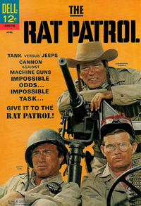 Cover Thumbnail for The Rat Patrol (Dell, 1967 series) #2