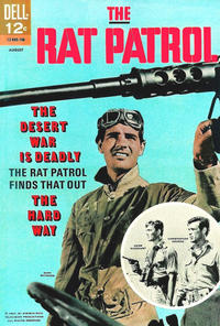 Cover Thumbnail for The Rat Patrol (Dell, 1967 series) #4