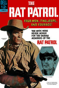 Cover Thumbnail for The Rat Patrol (Dell, 1967 series) #5