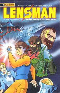 Cover Thumbnail for Lensman: The Secret of the Lens (Malibu, 1990 series) #1