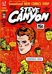 Cover Thumbnail for Steve Canyon (Harvey, 1948 series) #3