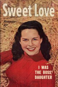 Cover Thumbnail for Sweet Love (Harvey, 1949 series) #2