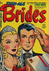 Cover Thumbnail for Teen-Age Brides (Harvey, 1953 series) #1