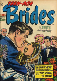 Cover Thumbnail for Teen-Age Brides (Harvey, 1953 series) #2