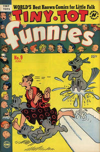 Cover Thumbnail for Tiny Tot Funnies (Harvey, 1951 series) #9