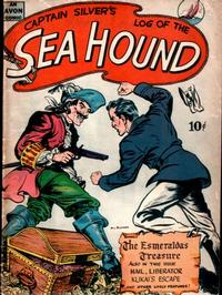 Cover Thumbnail for Captain Silver's Log of the Sea Hound (Avon, 1945 series) #[nn]