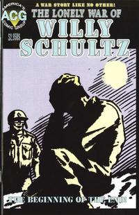 Cover Thumbnail for The Lonely War of Willy Schultz (Avalon Communications, 1999 series) #[3]