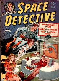 Cover Thumbnail for Space Detective (Avon, 1951 series) #1