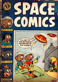 Cover Thumbnail for Space Comics (Avon, 1954 series) #4
