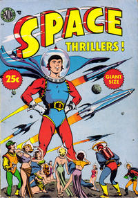 Cover Thumbnail for Space Thrillers (Avon, 1954 series)