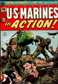 Cover Thumbnail for U.S. Marines in Action (Avon, 1952 series) #1
