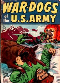 Cover Thumbnail for War Dogs of the U.S. Army (Avon, 1952 series) #1