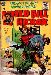 Cover Thumbnail for Wild Bill Hickok (Avon, 1949 series) #26