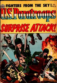 Cover Thumbnail for U.S. Paratroops (Avon, 1952 series) #6