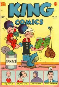 Cover Thumbnail for King Comics (Pines, 1950 series) #158